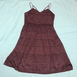 Sweetheart Neckline Lace Dress